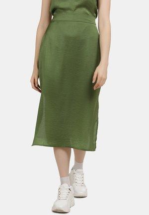 A-line skirt - olive