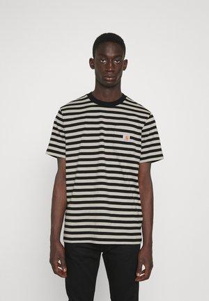 SCOTTY POCKET  - T-shirts print - black/hammer
