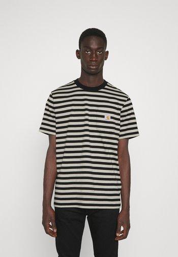 SCOTTY POCKET  - Print T-shirt - black/hammer