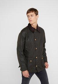 Barbour - ASHBY WAX JACKET - Summer jacket - olive - 0