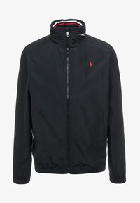Polo Ralph Lauren - AMHERST FULL ZIP JACKET - Summer jacket - black - 4