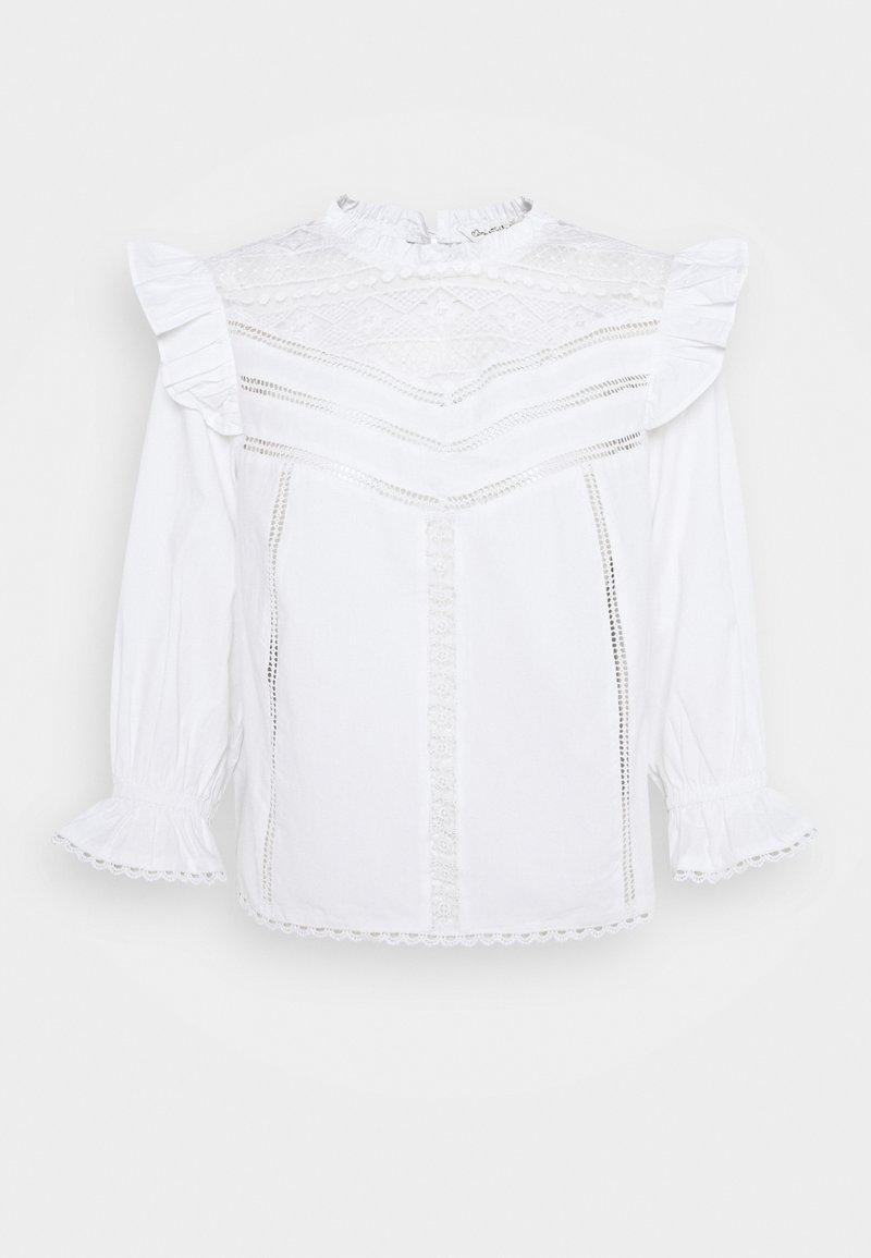 Miss Selfridge - CREAM PRAIRIE BLOUSE - Bluse - ivory