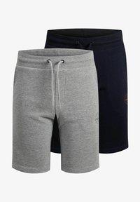 Jack & Jones Junior - 2 PACK - Shorts - light grey melange - 5