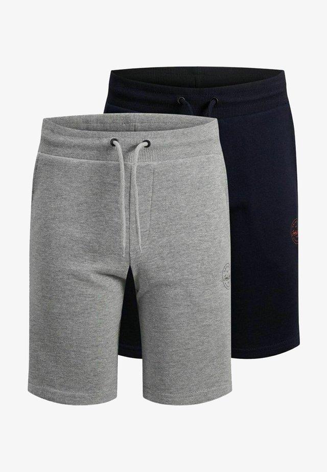 2 PACK - Shorts - light grey melange