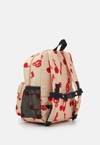 Mini Rodini - NOTES SCHOOL BAG - Batoh - beige - 1