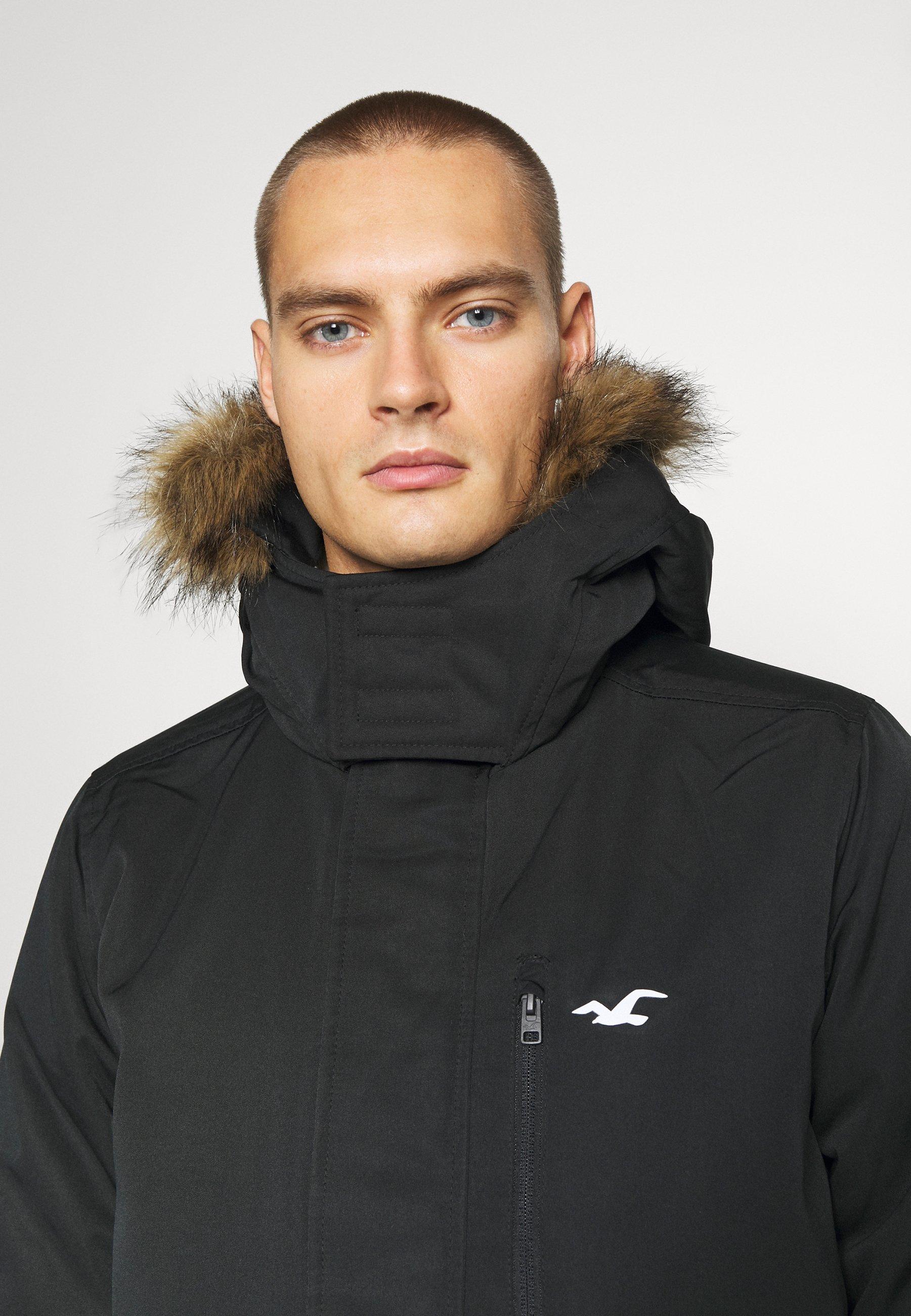Hollister Co. Vinterjakke - Black/svart