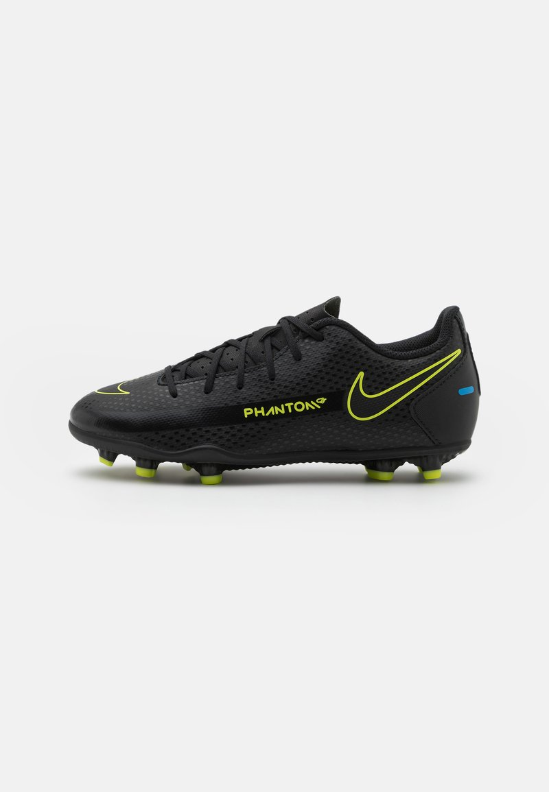 Nike Performance - JR PHANTOM GT CLUB FG/MG UNISEX - Kopačky lisovky - black/cyber/light photo blue