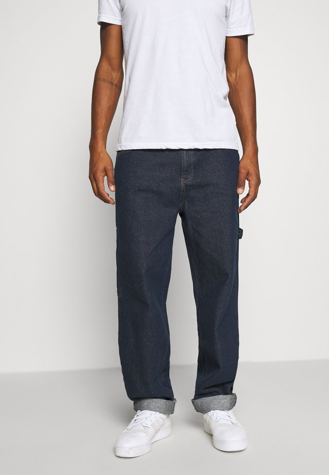 RINSE PANTS - Jeans a sigaretta - navy