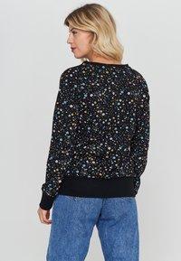 Mazine - TANAMI - Sweatshirt - black / printed - 0