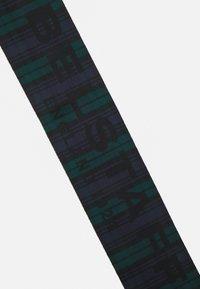 Belstaff - WATCH REVERSIBLE SCARF UNISEX - Huivi - dark black - 5