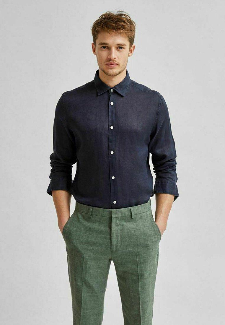 Selected Homme - Formal shirt - navy blazer