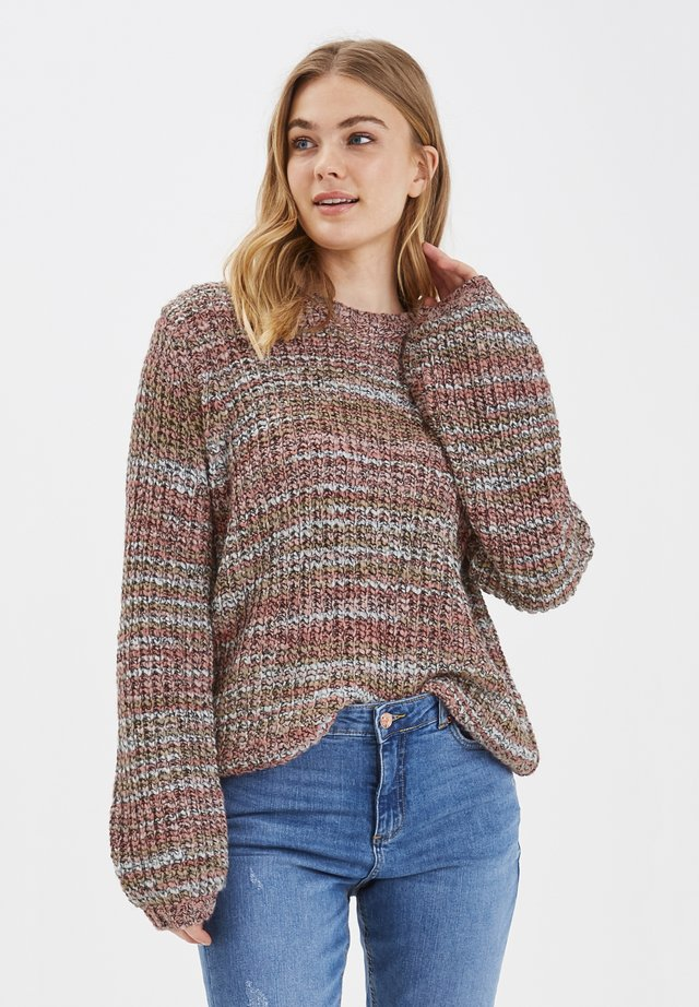 BYODELLA - Pullover - canyon rose combi 1