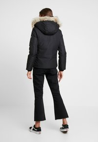 Tommy Jeans - HOODED JACKET - Down jacket - black - 2