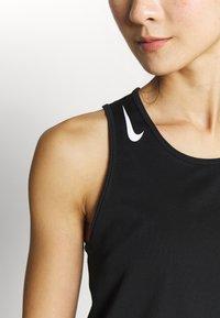Nike Performance - AEROSWIFT SINGLET - Camiseta de deporte - black - 4