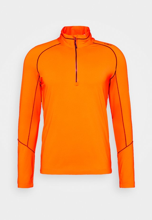 MAN  - Fleecová mikina - orange fluo