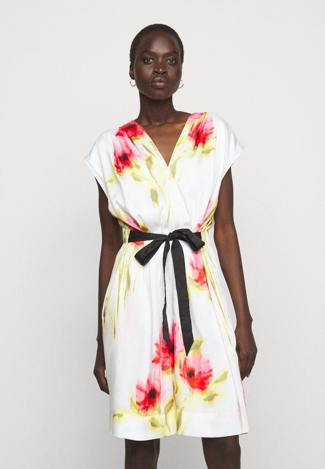 Sukienka letnia - ivory/multi
