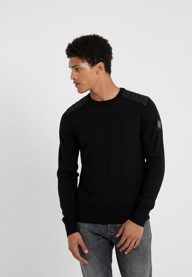 KERRIGAN CREW NECK - Stickad tröja - black