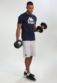 Kappa - TOPEN - Sports shorts - grey melange - 1