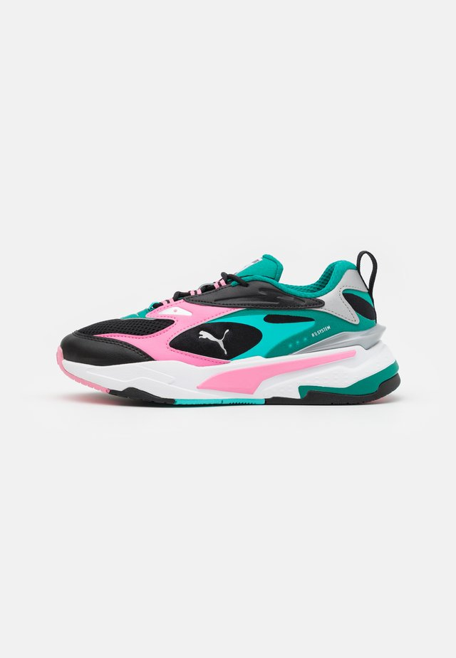 FAST - Sneakers laag - black/sachet pink/parasailing