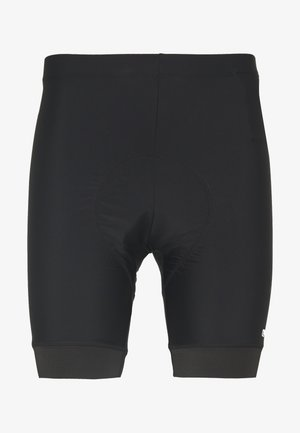 MAN BIKE SHORTS WITH PADS - Tights - nero