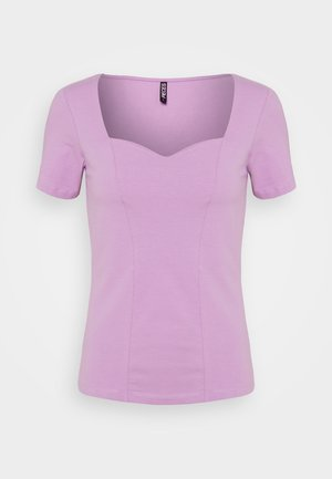PCANG  - T-shirt z nadrukiem - sheer lilac