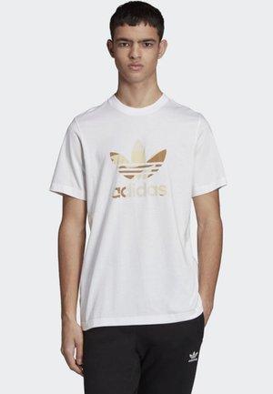 CAMOUFLAGE TREFOIL T-SHIRT - Camiseta estampada - white