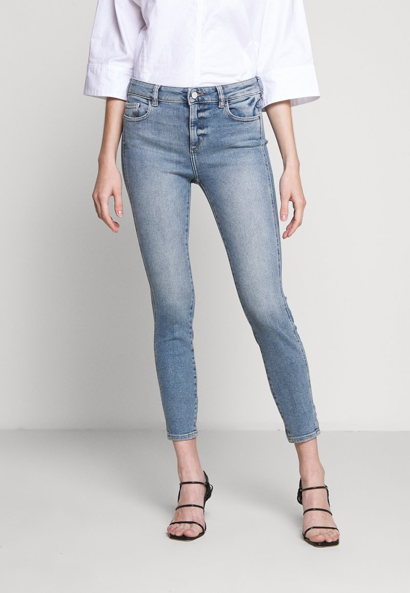 DL1961 - FLORENCE ANKLE MID RISE - Jeans Skinny Fit - edison