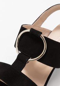 Brenda Zaro Wide Fit - WIDE FIT POLAR NEW - Sandals - black - 2