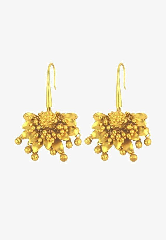 SPRING HOOK - Orecchini - gold coloured