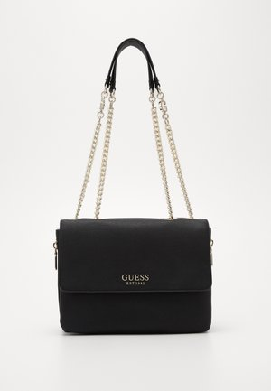 CHAIN CONVERTIBLE XBODY FLAP - Sac bandoulière - black