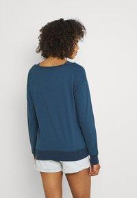 Ragwear - NEREA - T-shirt à manches longues - navy - 2