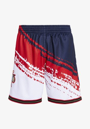NBA PHILADELPHIA 76ERS INDEPENDENCE SWINGMAN SHORT - Sports shorts - white
