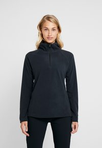 Columbia - GLACIAL 1/2 ZIP - Fleece jumper - black - 0