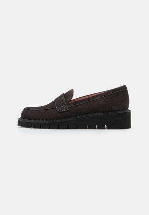 CROSTINA - Nazouvací boty - kaki