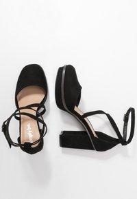 Simply Be - WIDE FIT BELLONA - High heels - black - 1