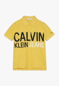 Calvin Klein Jeans - STAMP LOGO  - Polo shirt - yellow - 0