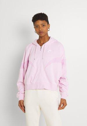 AIR HOODIE - Sweater met rits - regal pink