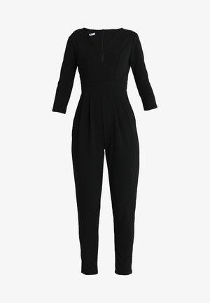 LONG SLEEVE - Jumpsuit - black
