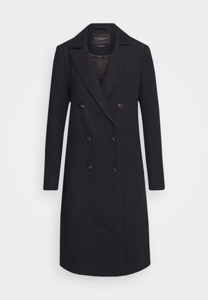 DOUBLE BREASTED TAILORED - Classic coat - night