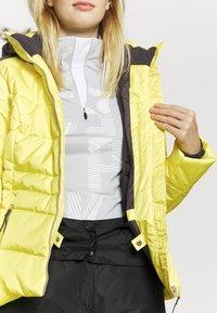 Icepeak - VIDALIA - Skijakke - yellow - 5