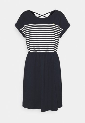 MINI  DRESS - Jersey dress - sky captain blue
