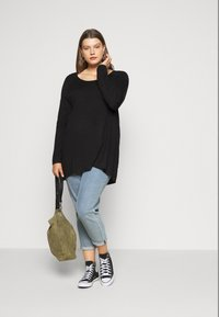 Even&Odd Curvy - Neule - black - 1