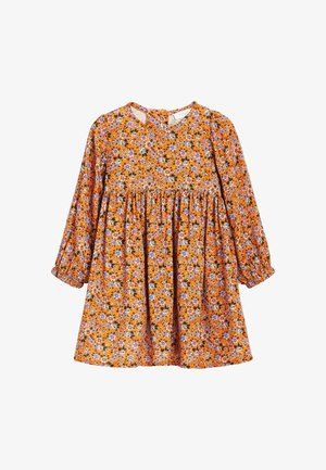 PRINTED VOLUME - Day dress - yellow
