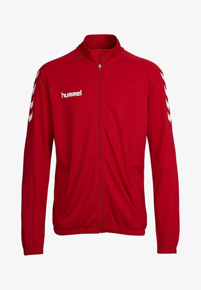 CORE - Training jacket - true red