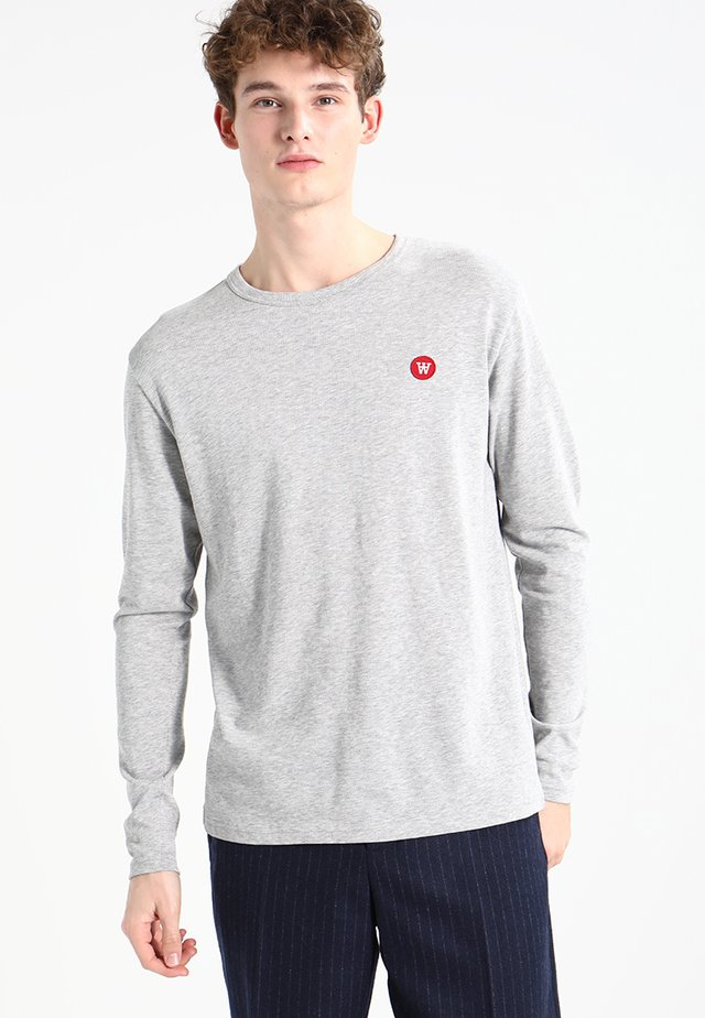 MEL - T-shirt à manches longues - grey melange
