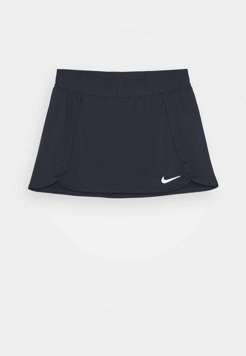 Nike Performance - SKIRT - Gonna sportivo - obsidian/white