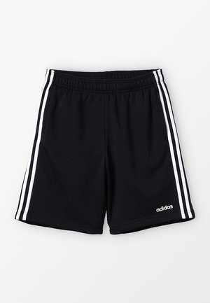 BOYS ESSENTIALS 3STRIPES SPORT 1/4 SHORTS - Pantalón corto de deporte - black/white