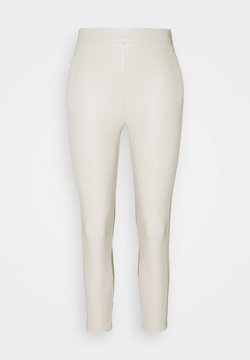 Miss Selfridge Petite - NEUTRAL LEGGING - Legíny - cream