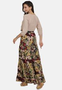 usha - ROCK - Maxi skirt - flower print - 2