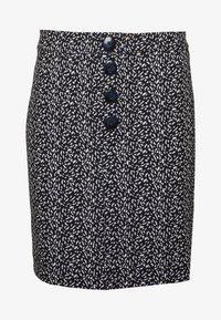 Dorothy Perkins - PRINT MINI - A-line skirt - black - 3